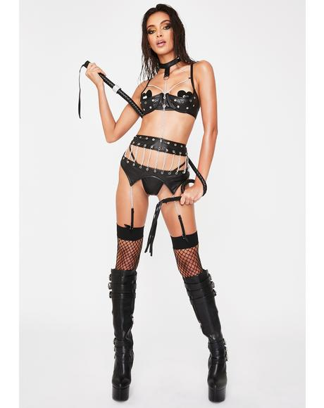 Pleasure N' Pain Lingerie Set
