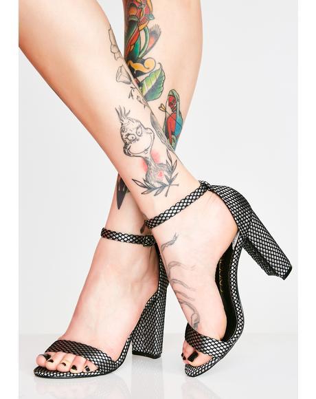 Aint Trippin Block Heels