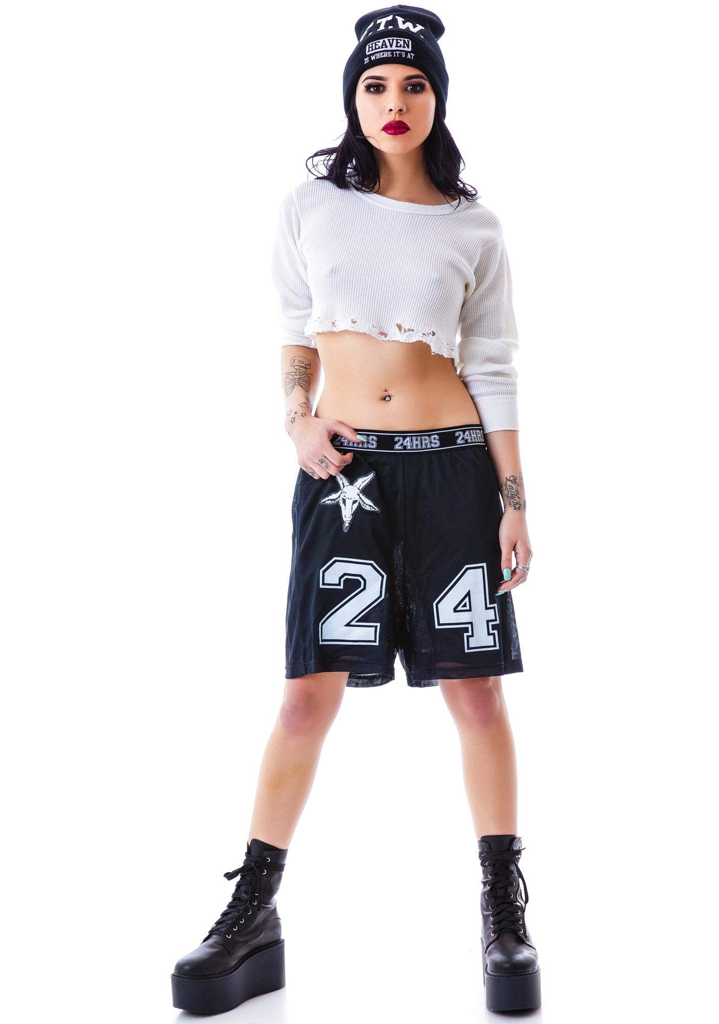 24HRS Mesh Gym Shorts