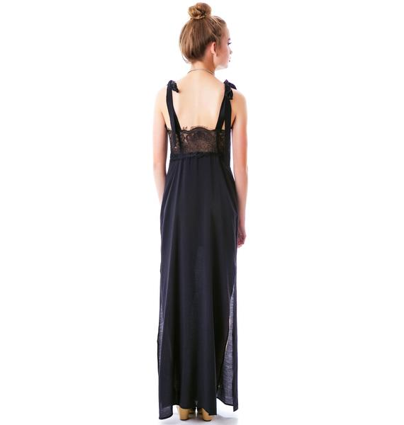 For Love & Lemons Sweet Tea Maxi Dress