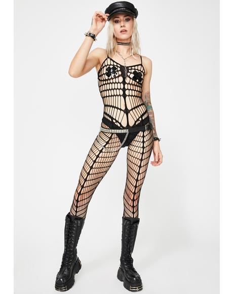 Take Me Now Fishnet Bodystocking