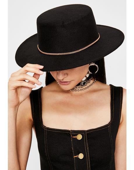 Moonlit Rider Chain Hat