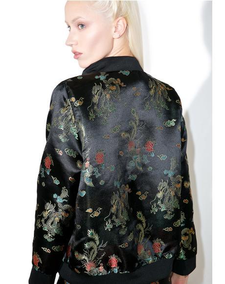 Wang Fei Bomber Jacket