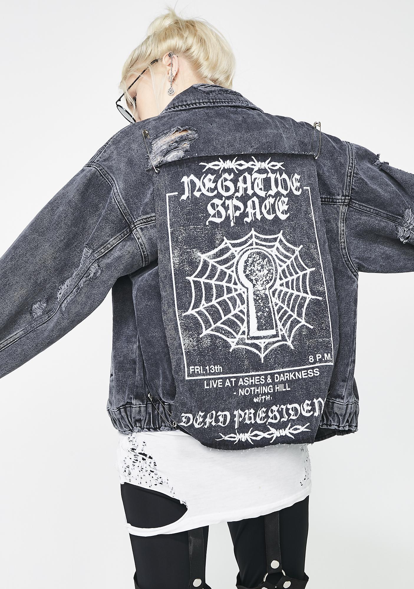 Disturbia Oversized Denim Jacket