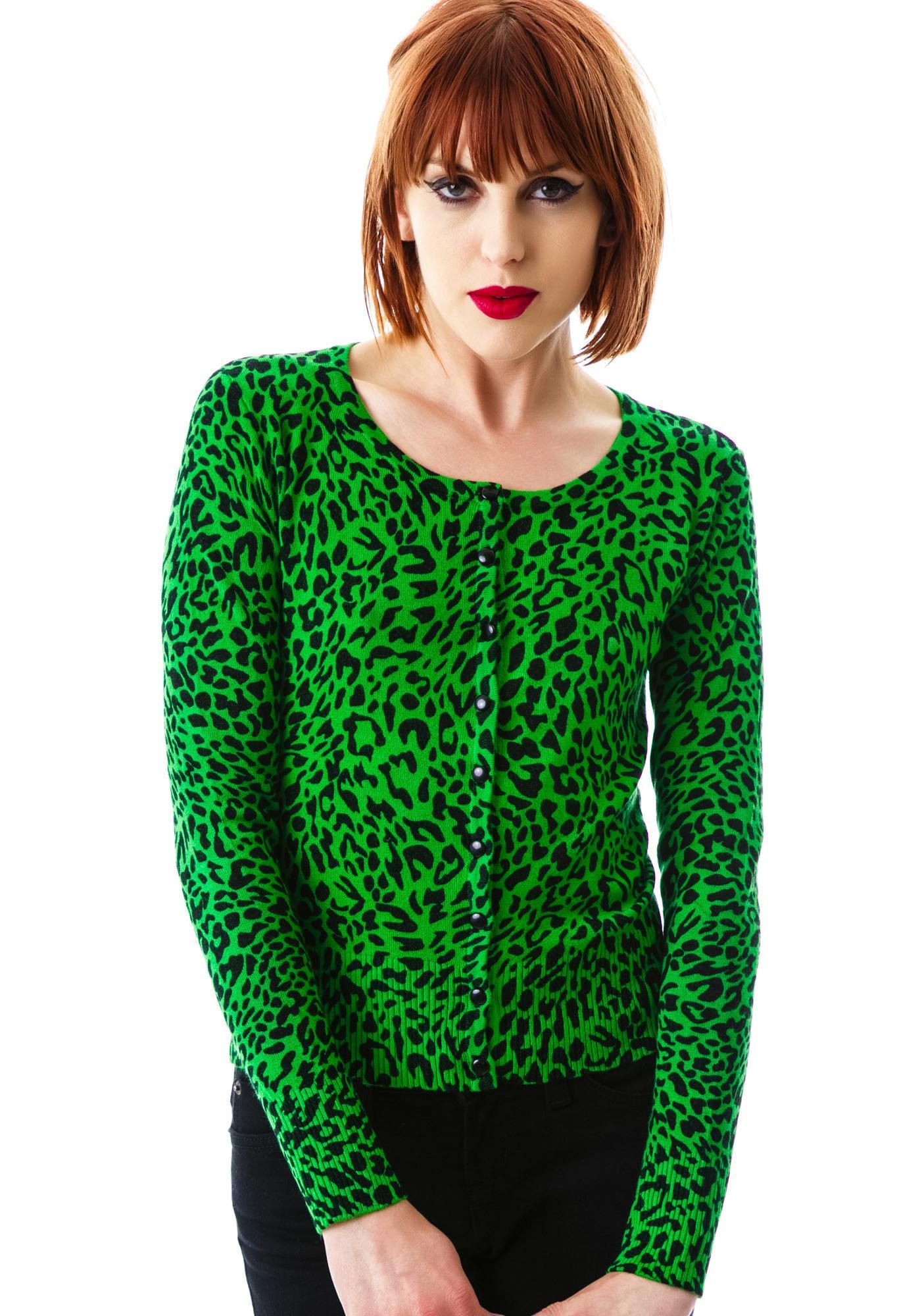 Lola Leopard Cardigan | Dolls Kill
