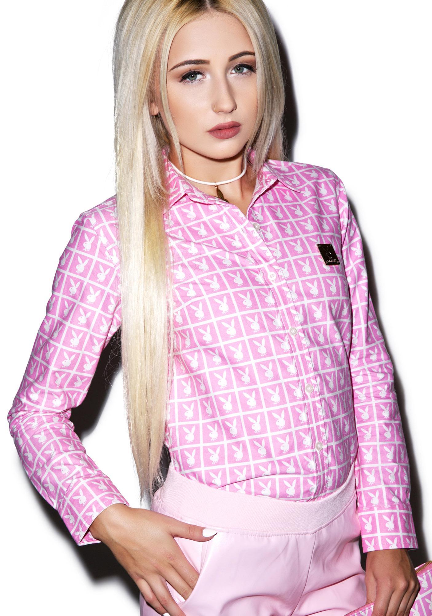 Joyrich X Playboy Panel Shirt
