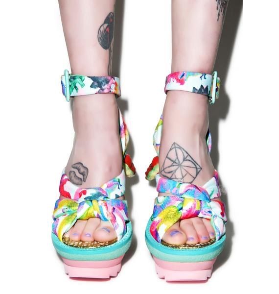 Irregular Choice Dino Heels