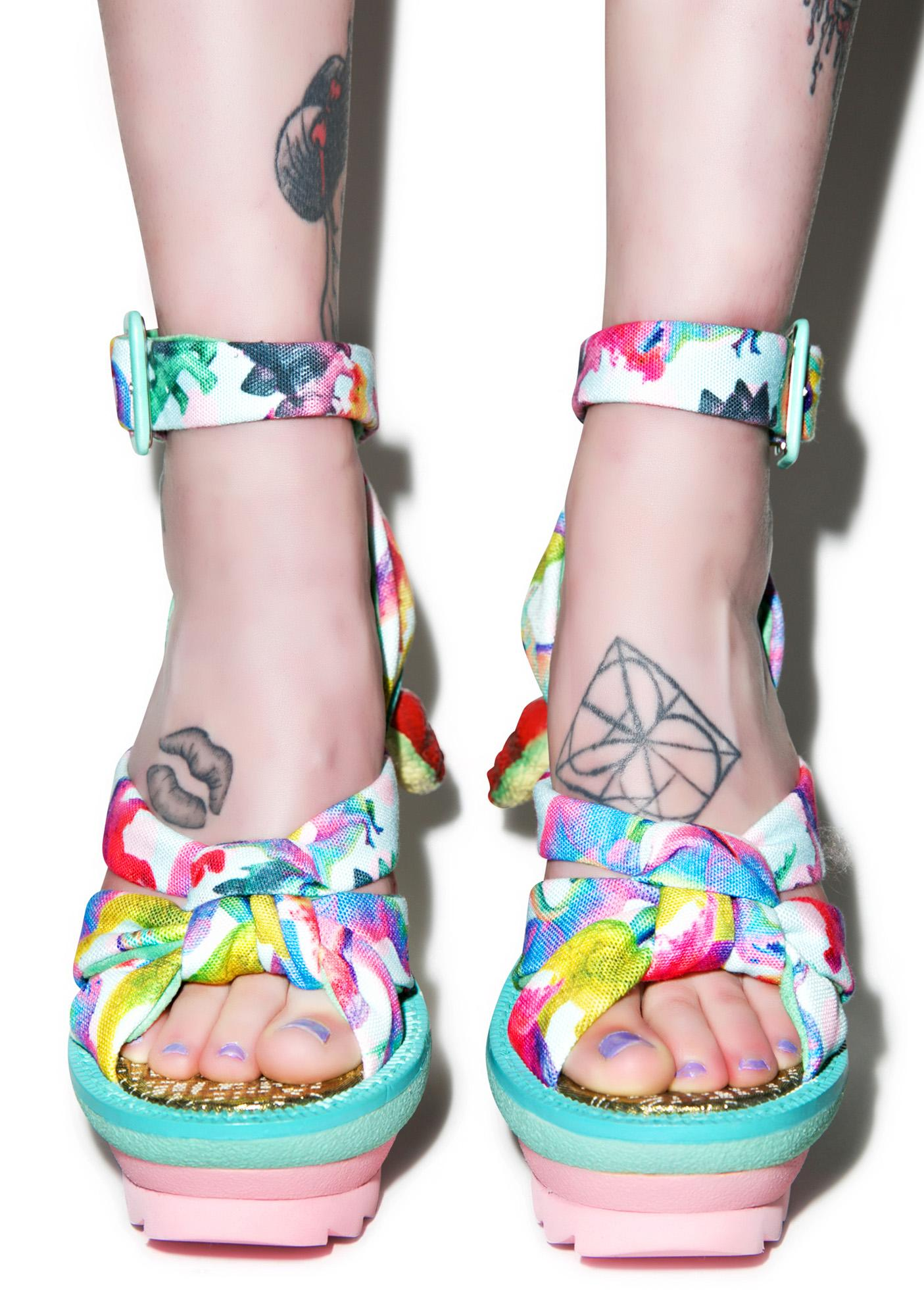 Irregular Choice Dino Heels