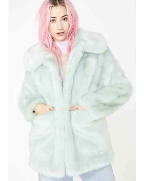 Minty Tammy Coat