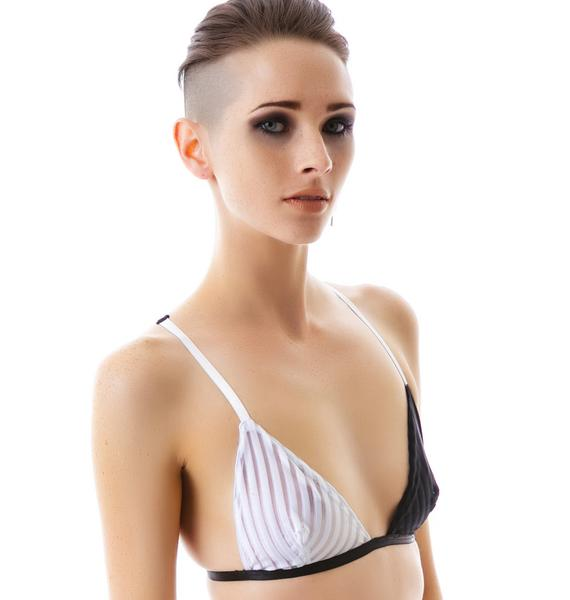 One Teaspoon Black Lion Bra
