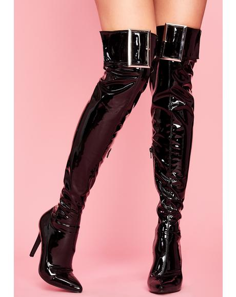 Top Tier Trixxx Thigh High Boot