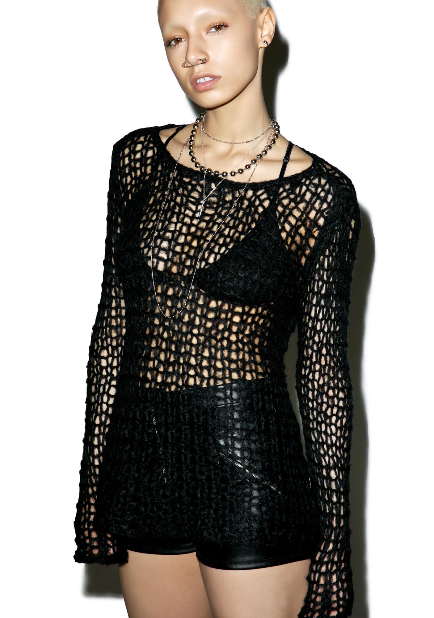 Tripp NYC Punk Knit Sweater