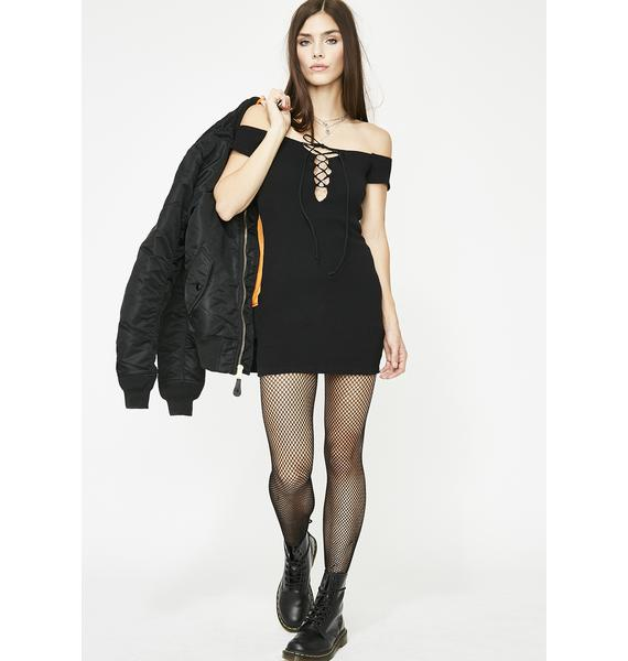 Laced With Lust Mini Dress