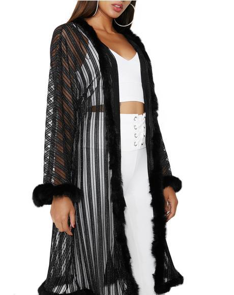 Shimmer Pop Robe