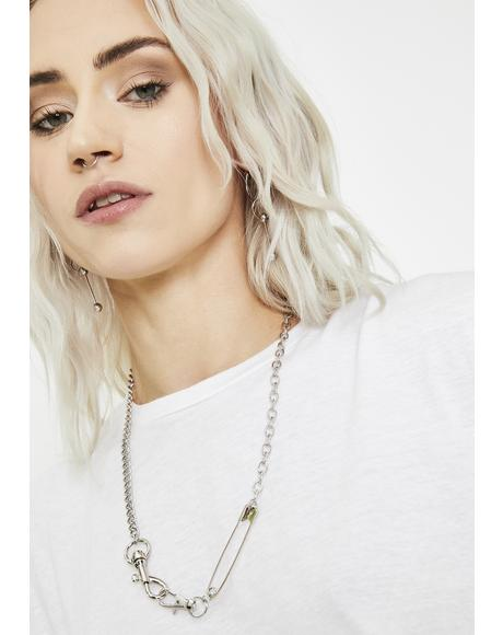 Darby Attitude Chain Necklace