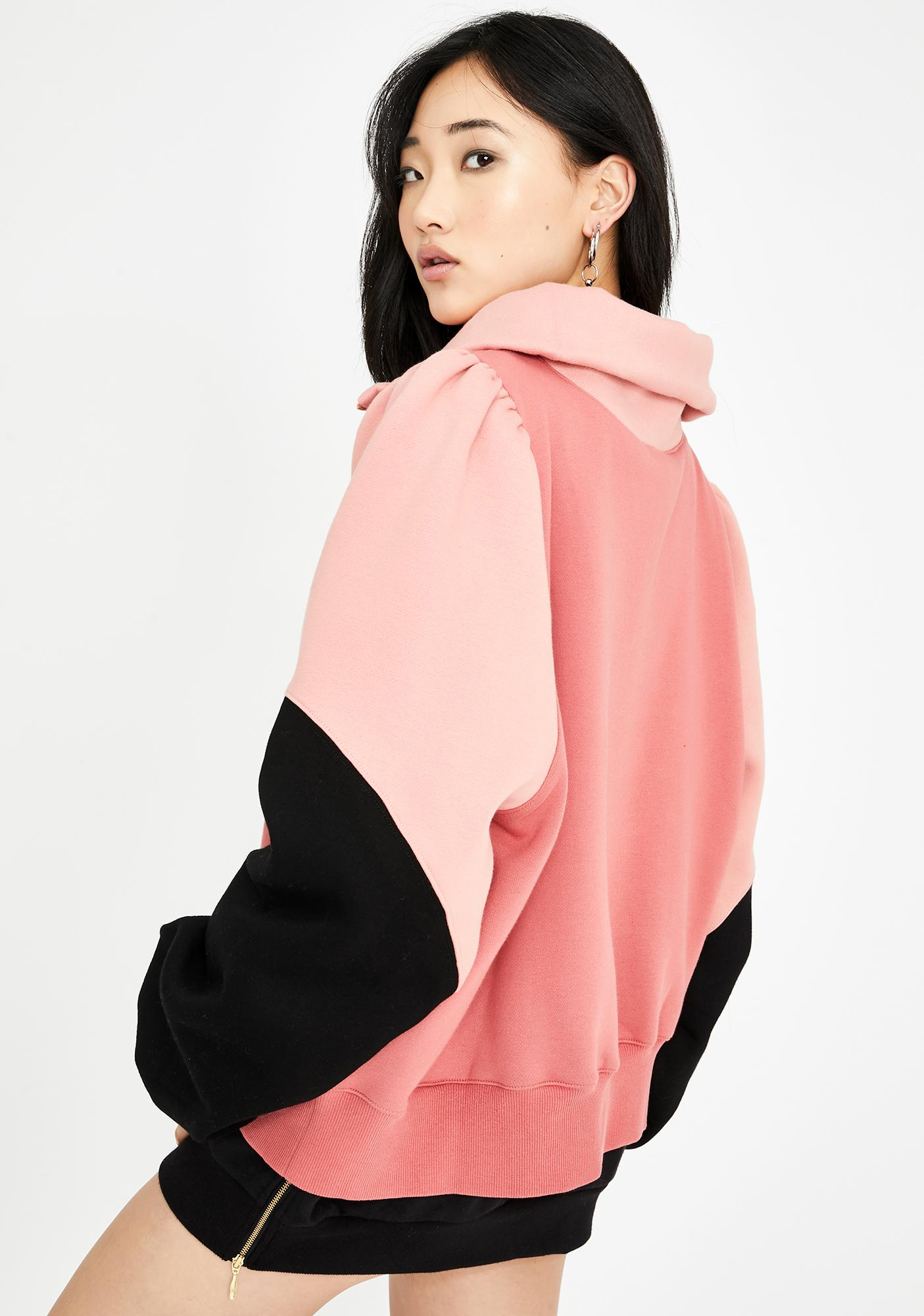 Selkie Sally Colorblock Zip-Up Sweater