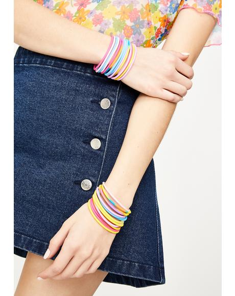 Colorful Cutie Multi Hair Ties Set