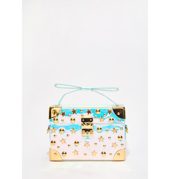 Betsey Johnson Don't Box Me In Crossbody Bag