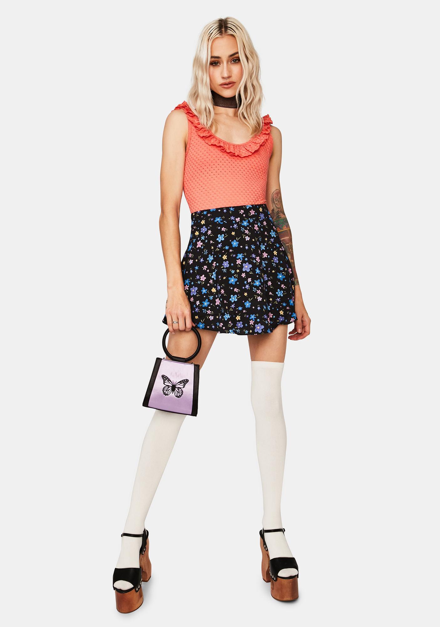 Mink Pink Holly Frill Bodysuit