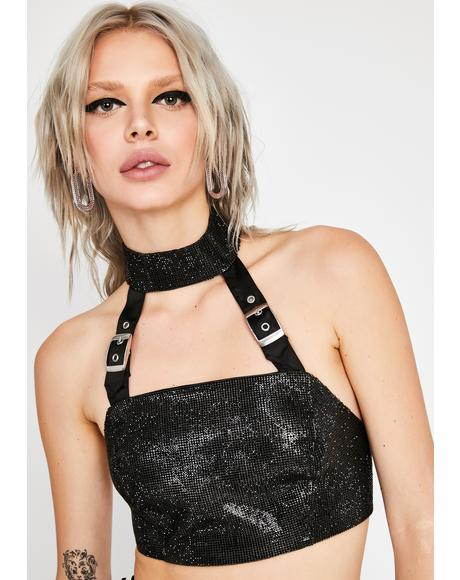 Insidious Obsession Crop Top