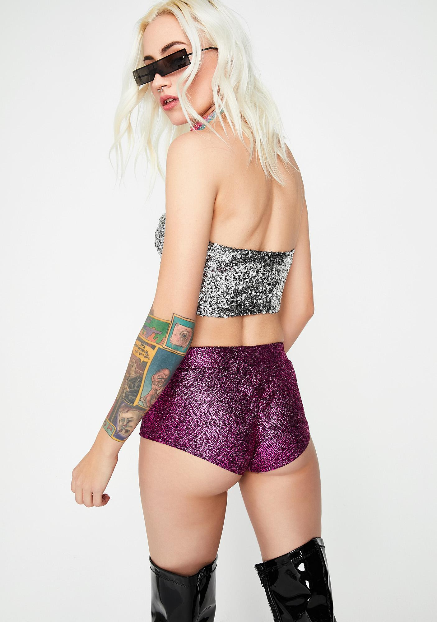 Sweet Let's Dance Booty Shorts