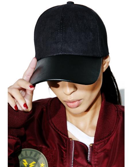 No Winners Vegan Leather Hat