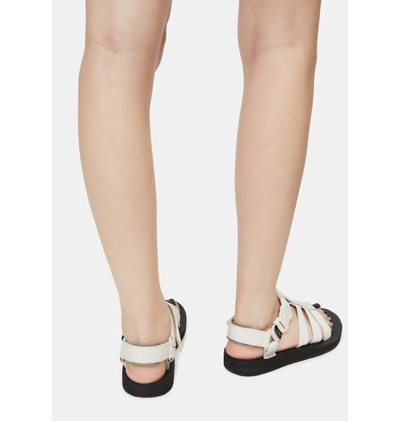 Teva White Original Dorado Sandals