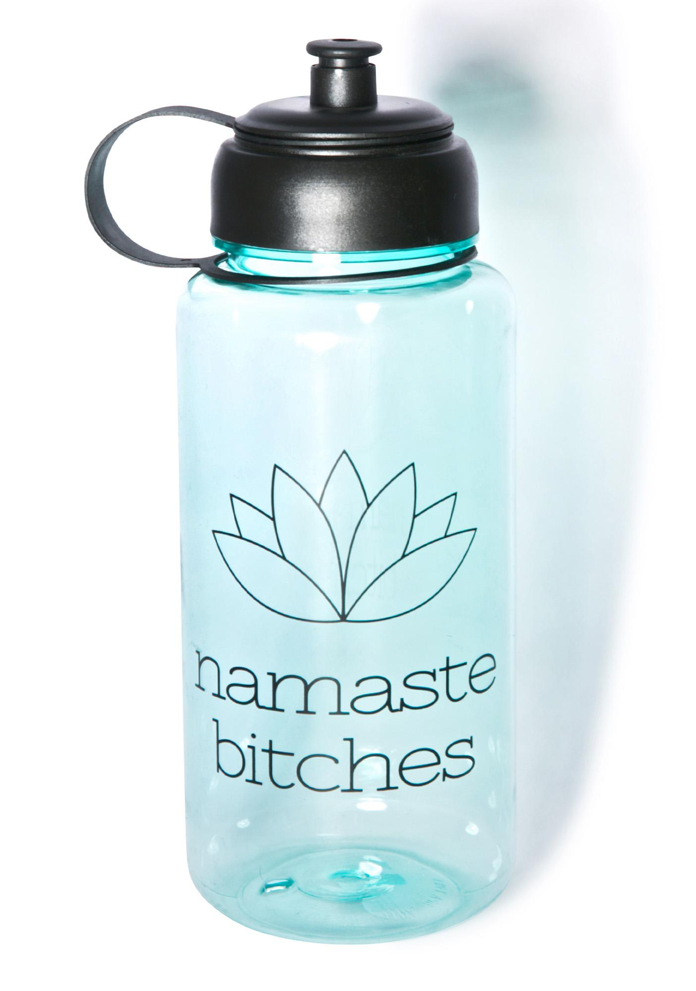 Namaste Bitches Water Bottle