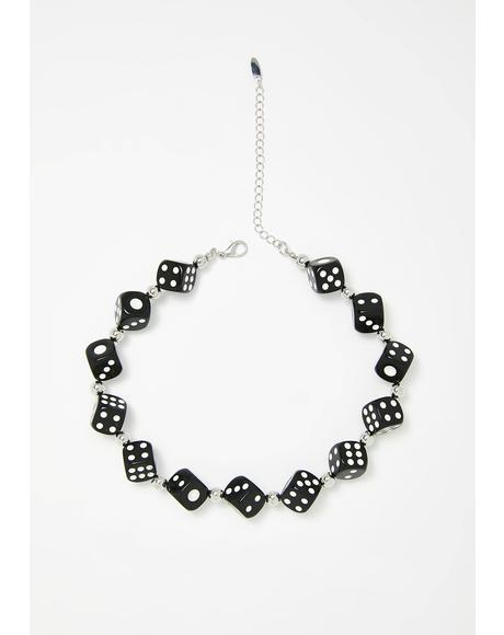 Gamble Game Dice Choker