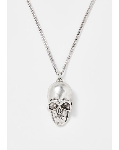 Paranormal Romance Skull Necklace