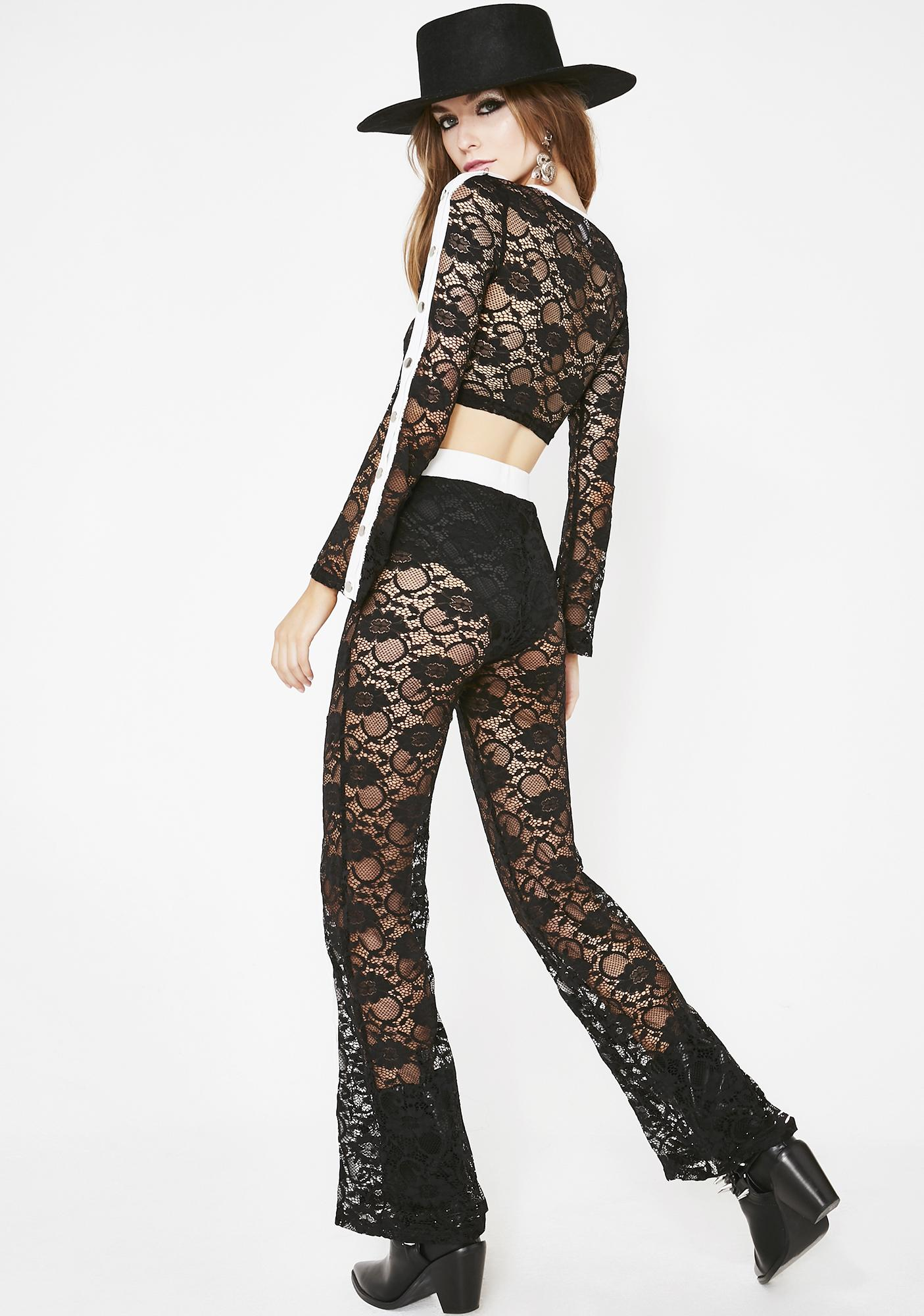 For The Night Lace Set