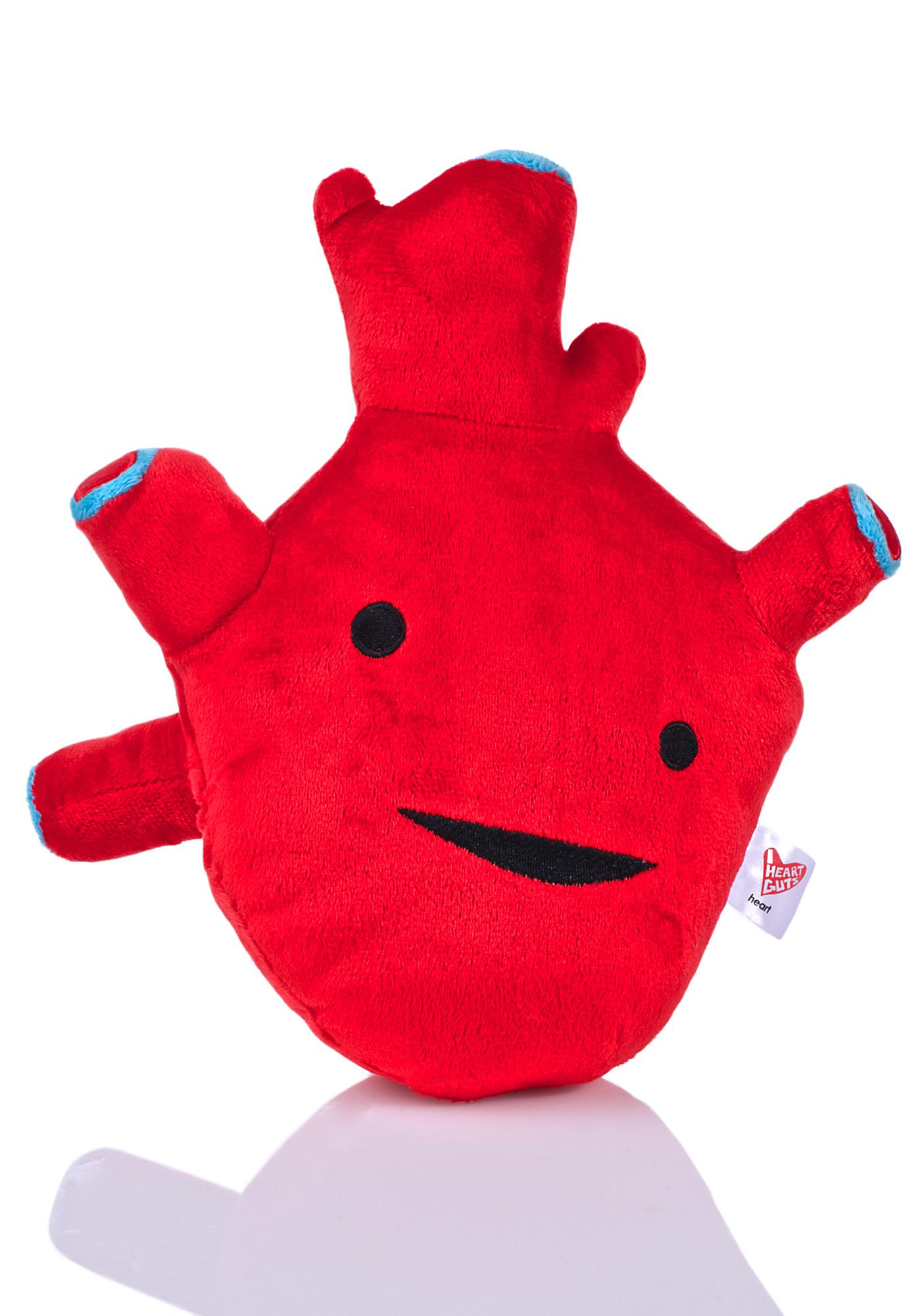 I Heart Guts Heart Plushie Dolls Kill
