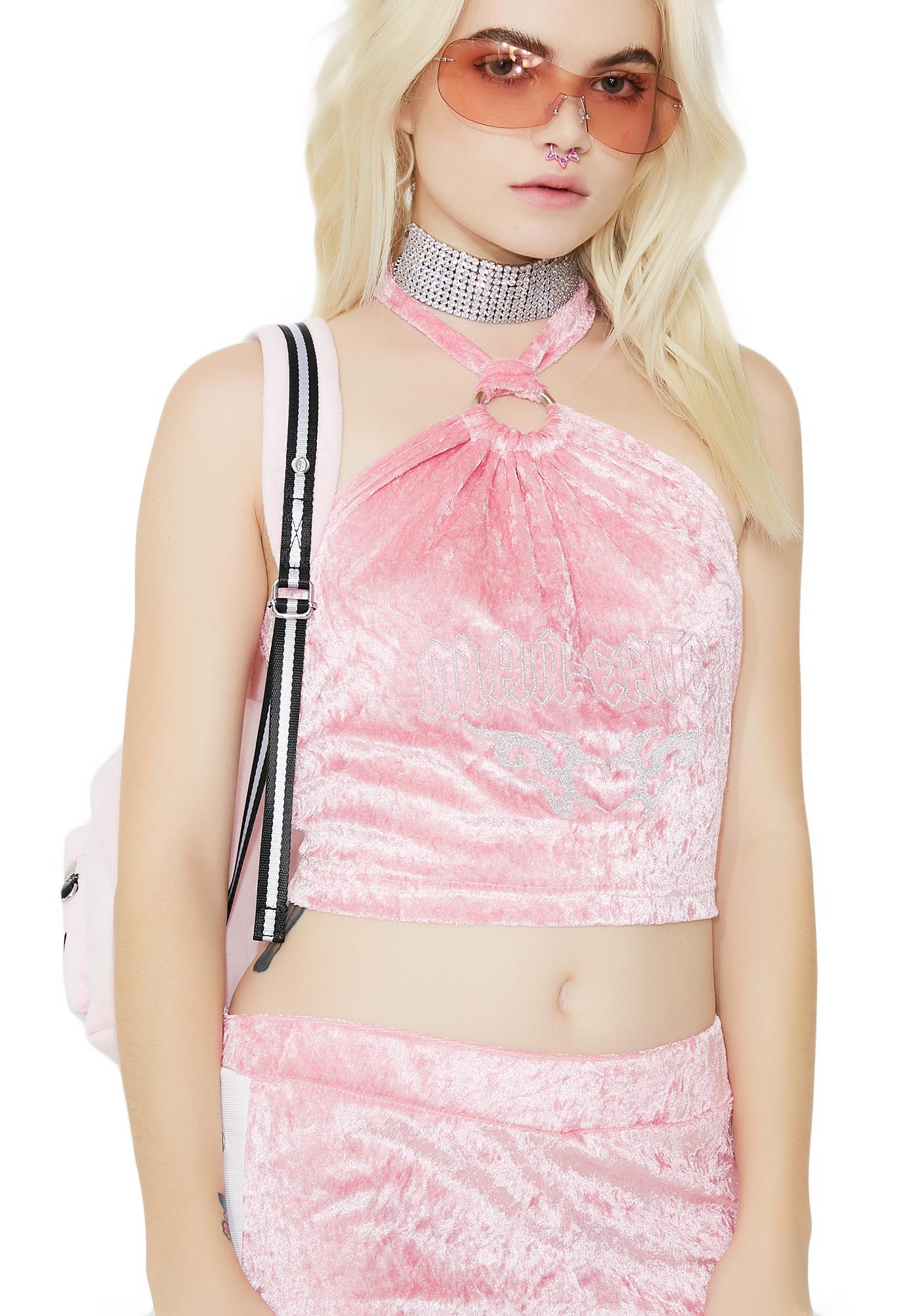 Sugarpills Man Eater Crop Top
