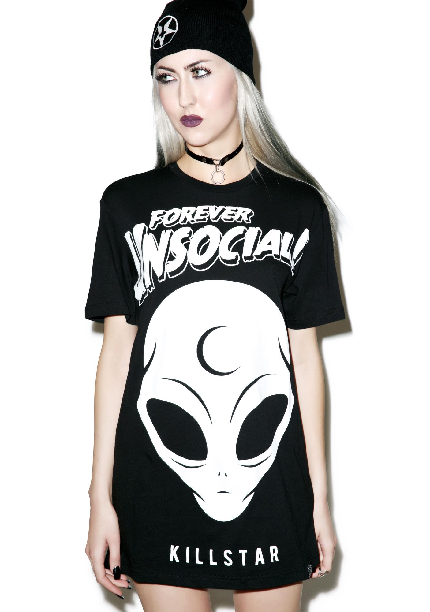 Killstar Unsocial T-Shirt