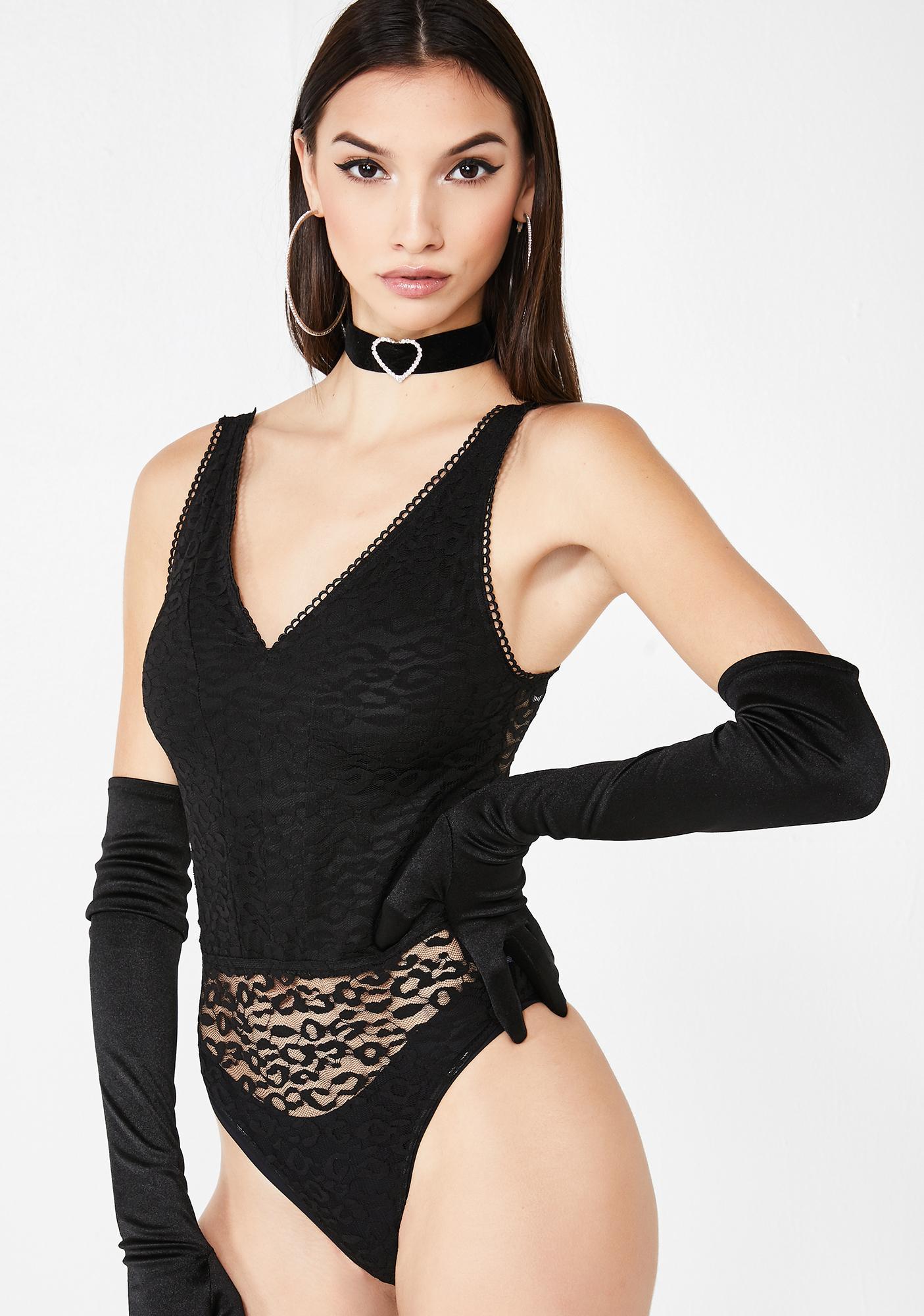 Fierce Impulse Leopard Bodysuit