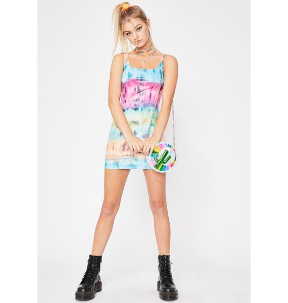 Cosmic Hippie Mini Dress