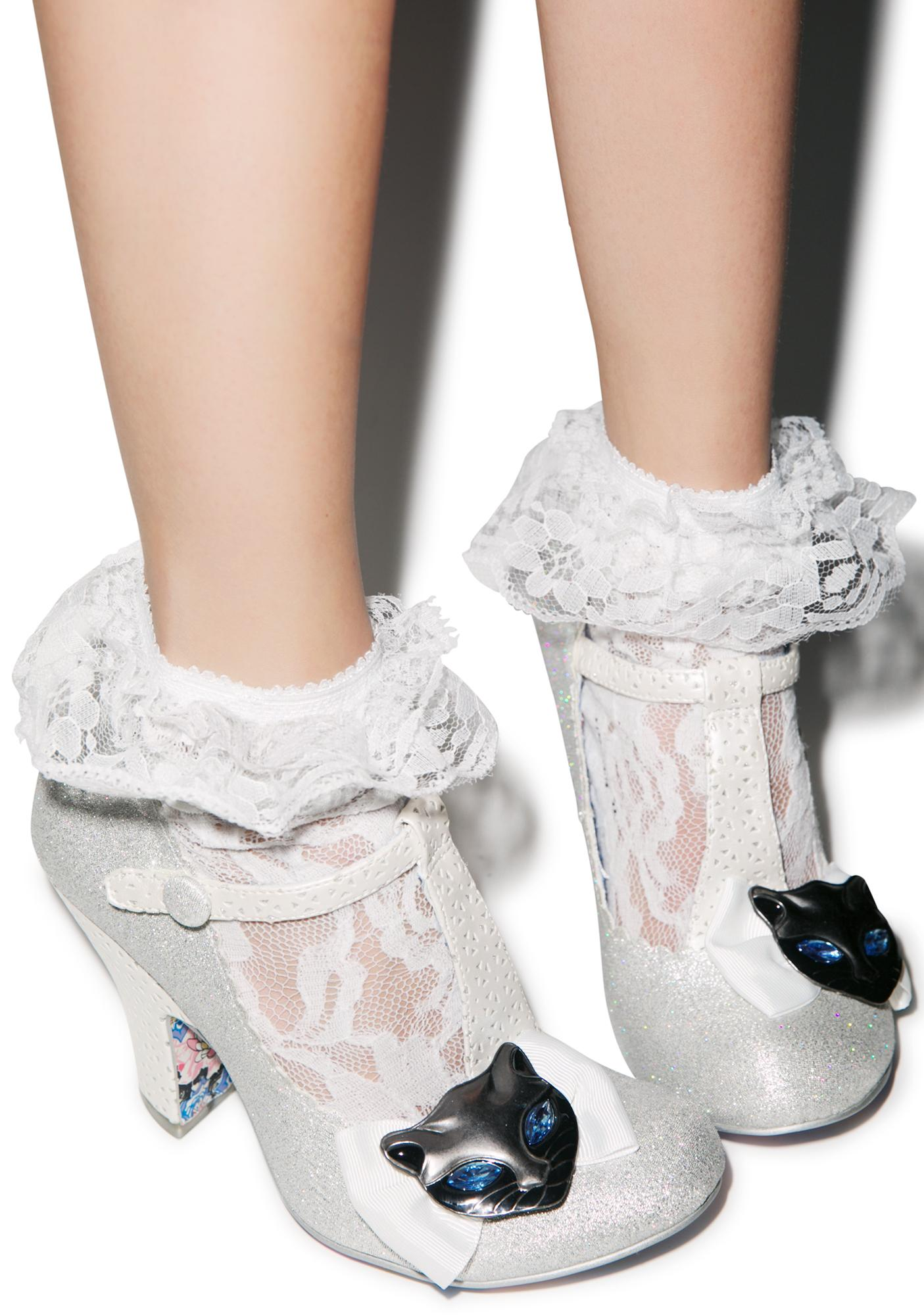 Irregular Choice Feline Friend Heels