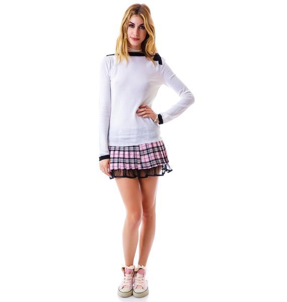Bon Voyage Boatneck Sweater
