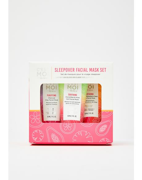 Sleepover Facial Mask Set