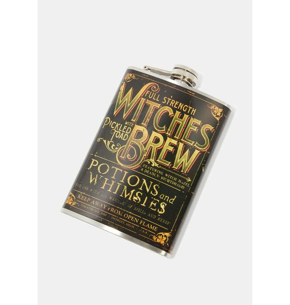 Retro-a-go-go! Witches Brew Flask