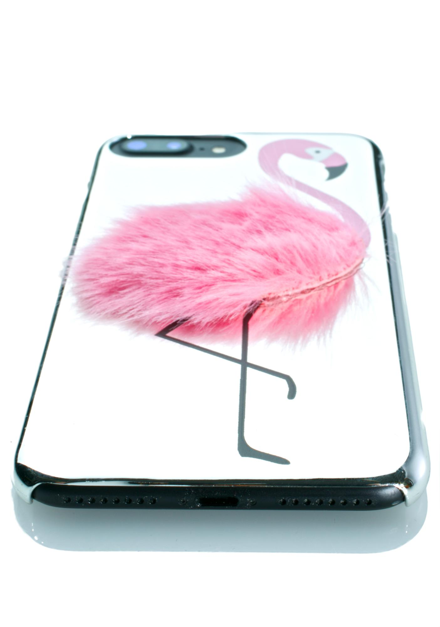 best authentic 6b582 ce475 Flamingo Fluff iPhone Case