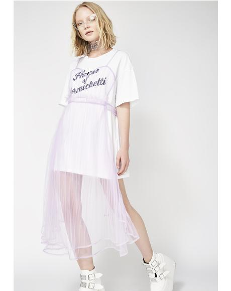 Tulle Shirt