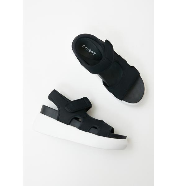 Here To Win Platform Sandals