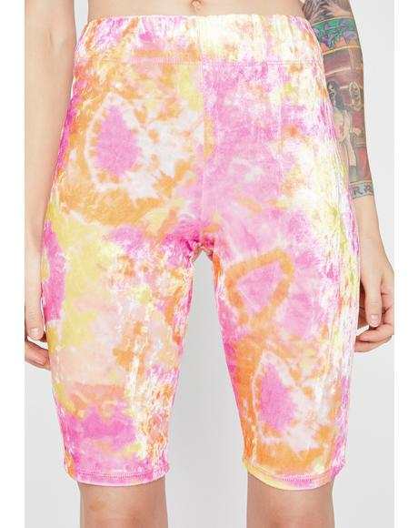Sherbet Sweet Shock Biker Shorts