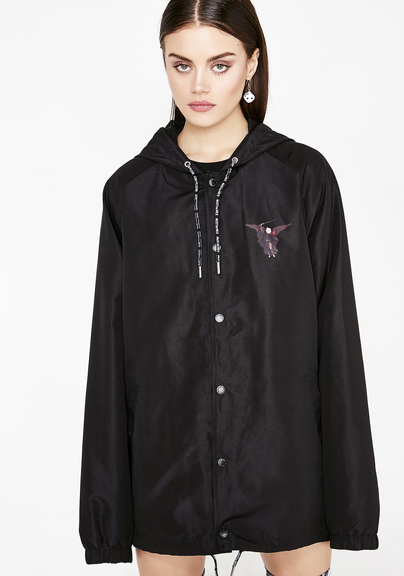 RIPNDIP Hell Pit Hooded Coach Jacket