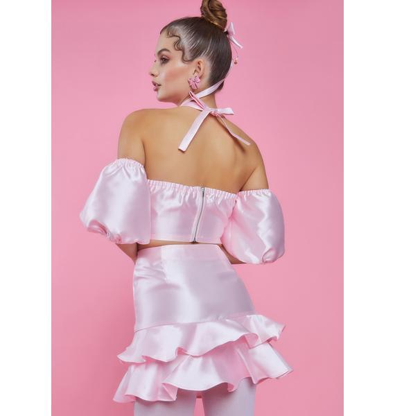 Sugar Thrillz Twilight Soiree Ruffle Skirt