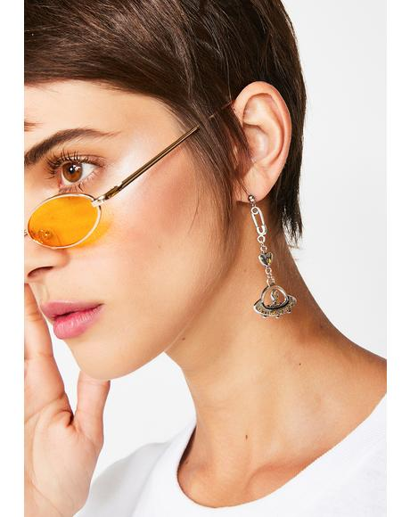 Space Whip Earrings