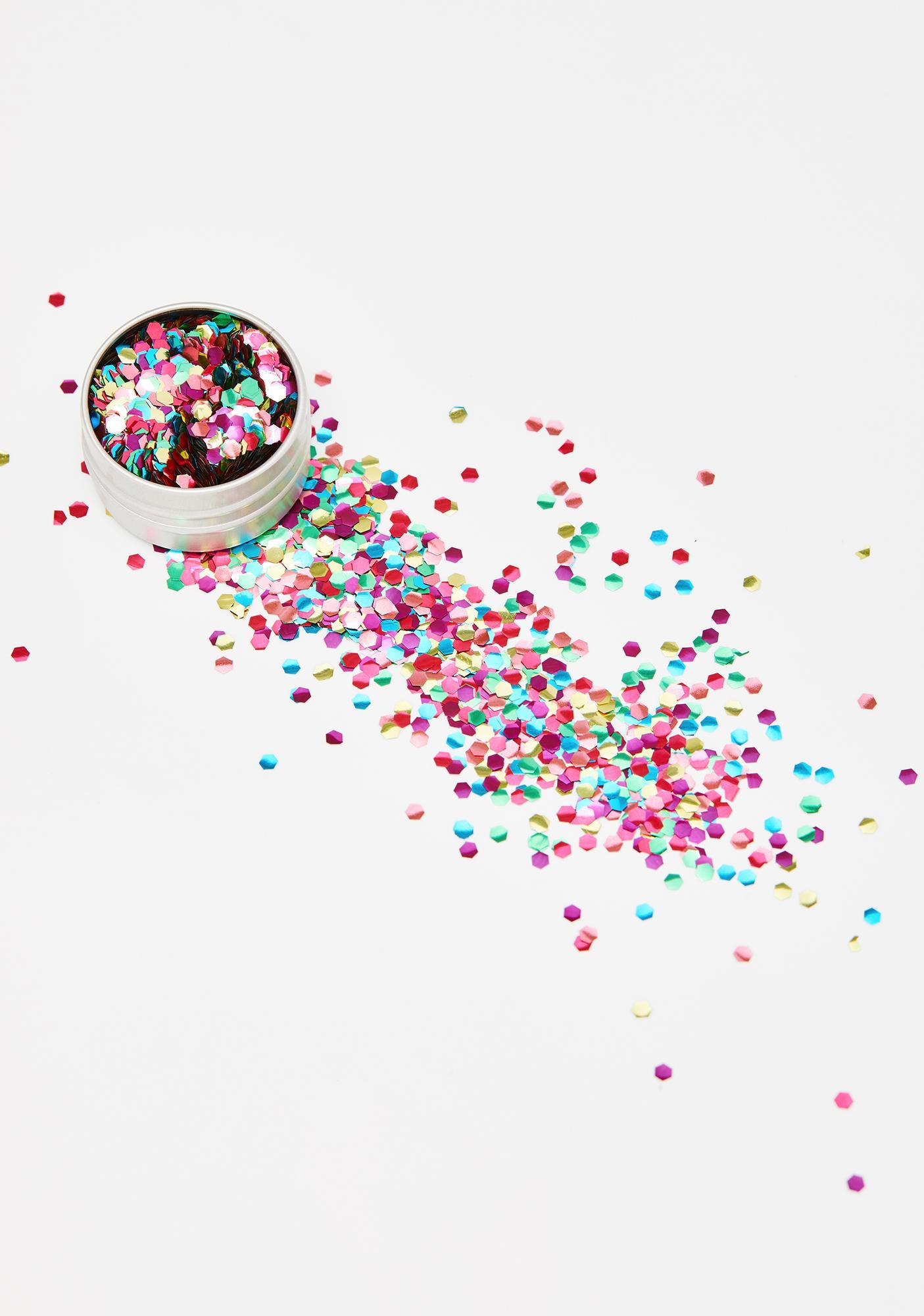 EcoStardust Mega Rainbow Biodegradable Glitter