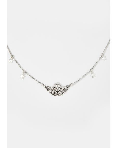 Baby Angel Charm Necklace