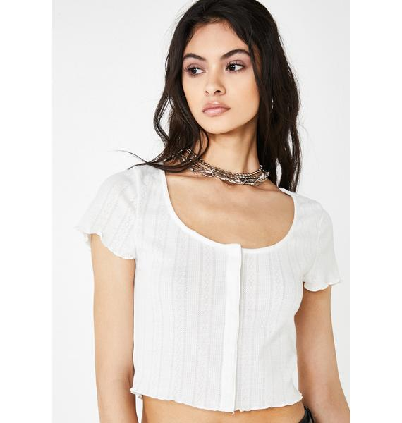 Icy Babe Class Crop Top